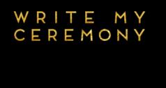 Write My Ceremony.com